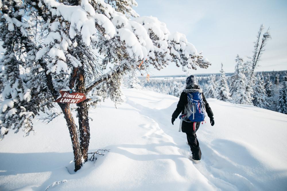 Winter Hiking - Martina Gebarovska