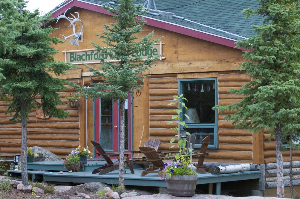 Summer Main Lodge by Tessa MacIntosh
