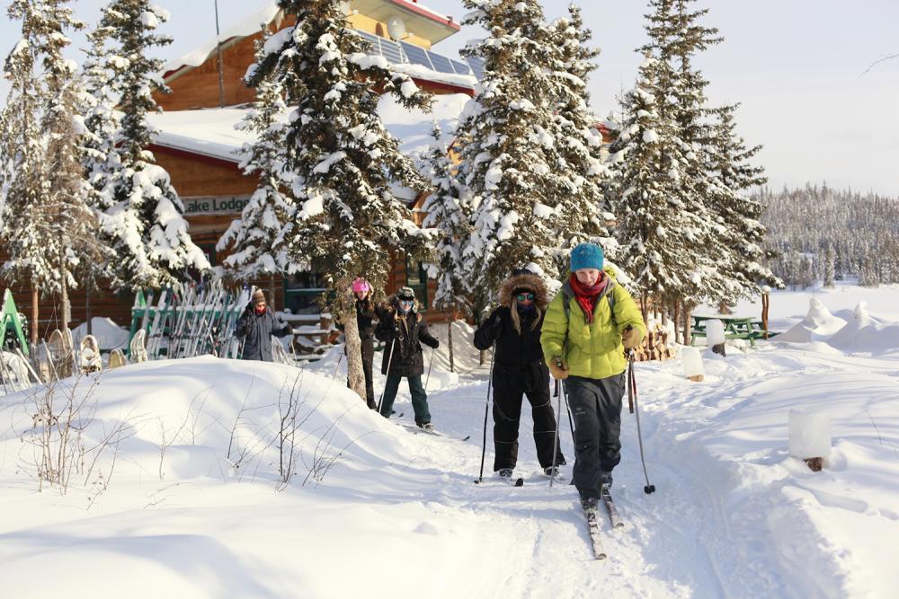 Out For A Ski - Rahela Jagric