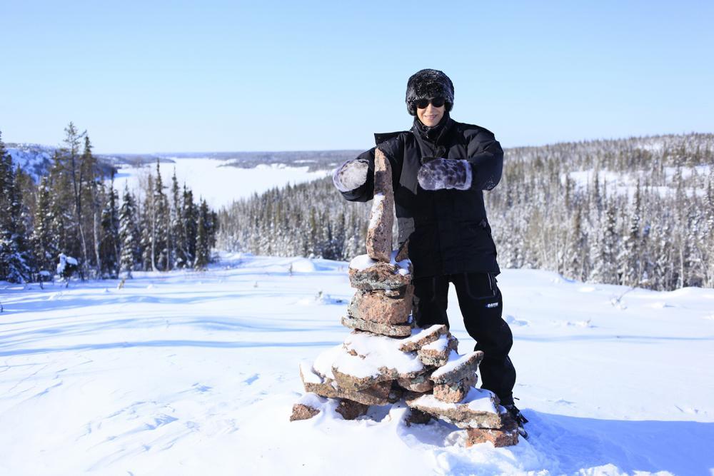 Winter Hike Lookout - Rahela Jagric