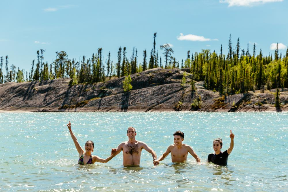 Taking A Dip - Ryan Pyle Productions & Destination Canada